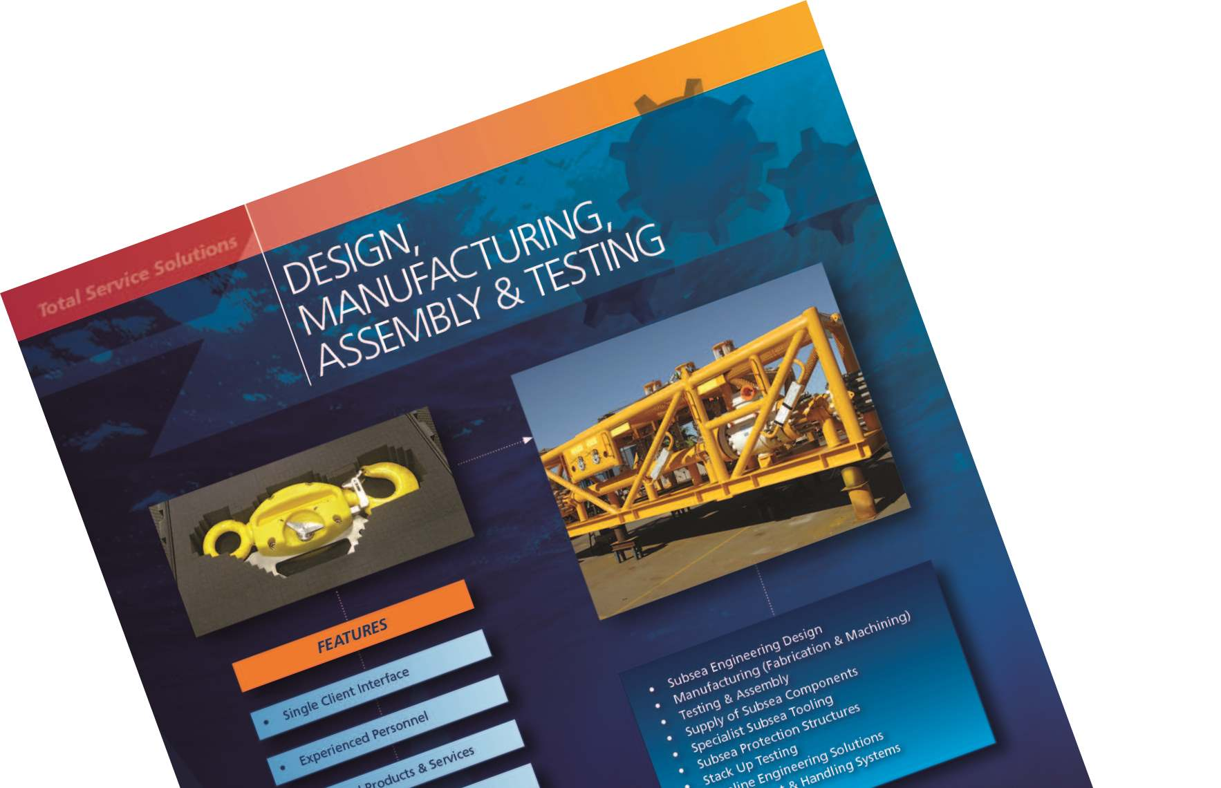 Design, Manufacture, Testing & Assembly Brochure